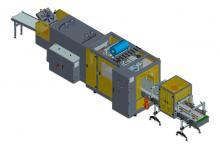 Автоматический линейный  упаковщик  - 1200 упаковок в час